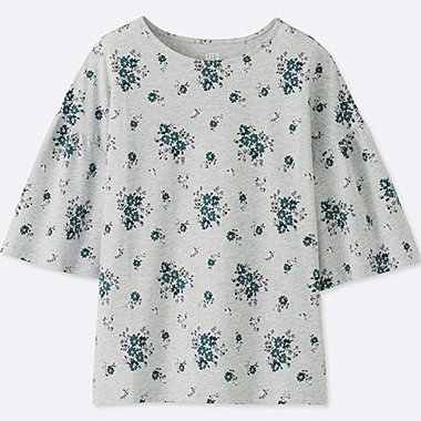 WOMEN STUDIO SANDERSON FOR UNIQLO GRAPHIC T-SHIRT