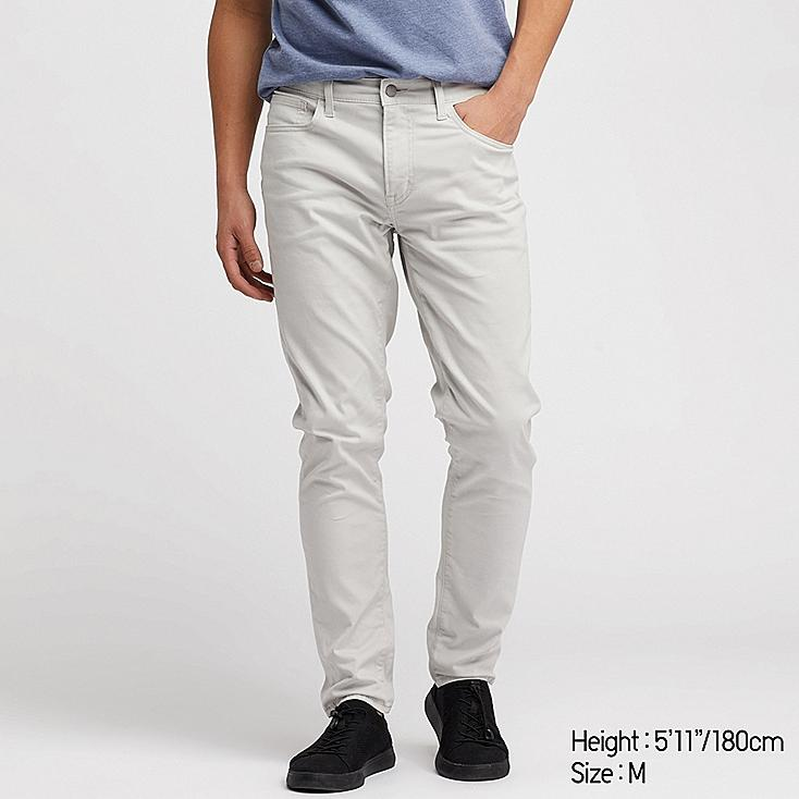 MEN EZY SKINNY FIT COLOR JEANS, LIGHT GRAY, large
