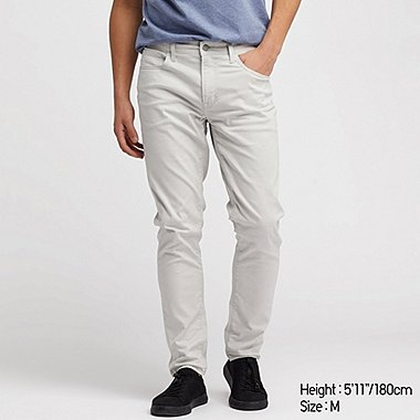 MEN EZY SKINNY FIT COLOR JEANS, LIGHT GRAY, medium