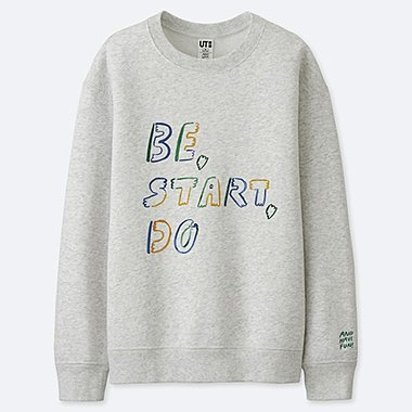DAMEN BEDRUCKTES SWEATSHIRT AND HAVE FUN! BY GRACE LEE