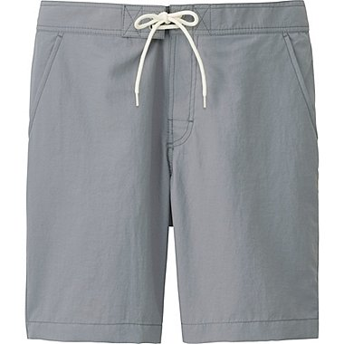 Mens Swim Shorts, GRAY, medium
