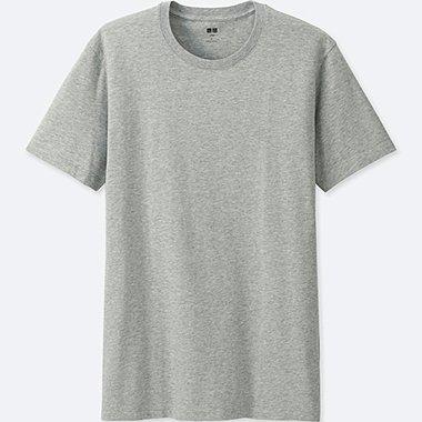 Men Supima® Cotton Crew Neck T-Shirt, GRAY, medium