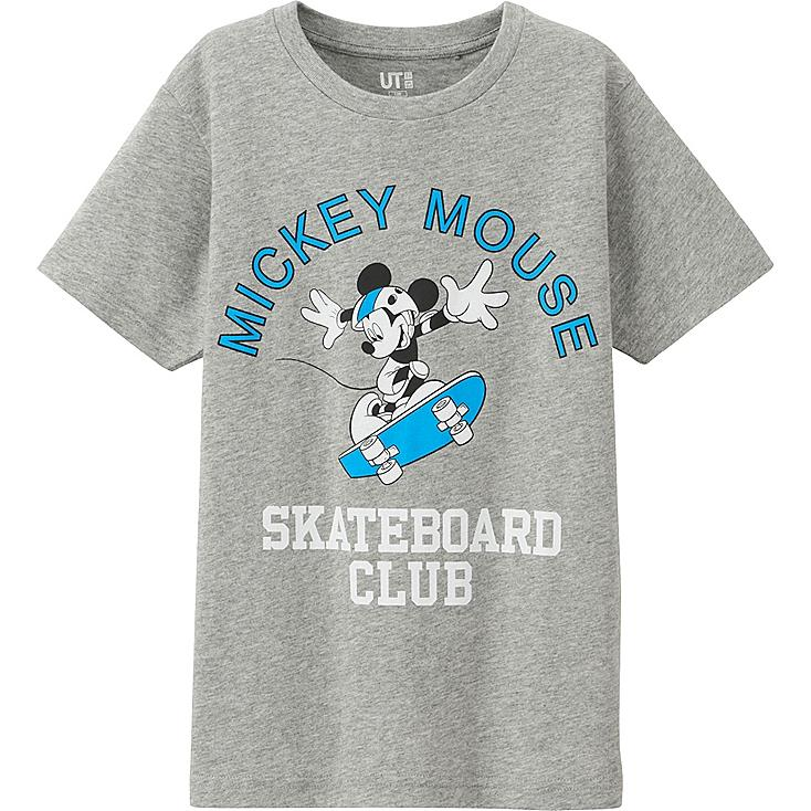 Boys Disney Project T-Shirt, GRAY, large