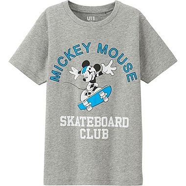 Boys Disney Project T-Shirt, GRAY, medium
