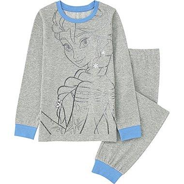 Girls Disney Project Long Sleeve Pajamas, GRAY, medium