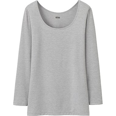 HEATTECH WOMEN Scoop Neck T-Shirt