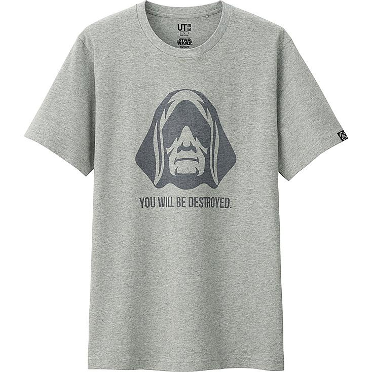 Star Wars Graphic Tee, GRAY, large