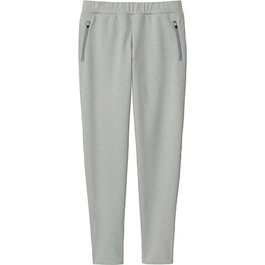 WOMEN BLOCKTECH FLEECE PANTS, GRAY, medium