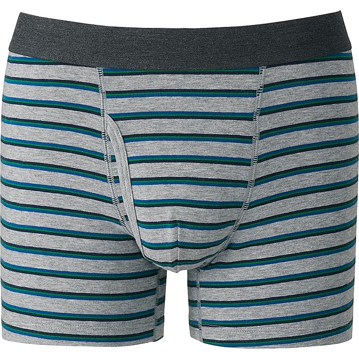 MEN Supima Cotton Striped Trunks