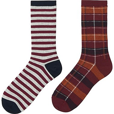 GIRLS REGULAR SOCKS 2P, GRAY, medium