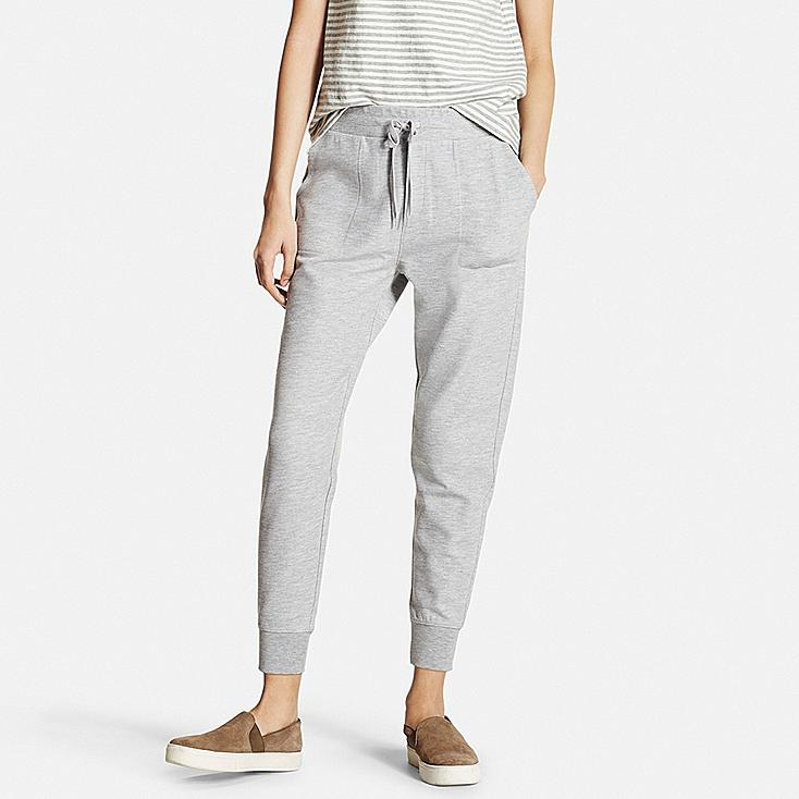 WOMEN Milano Rib Cut And Sewn Jogger Pants