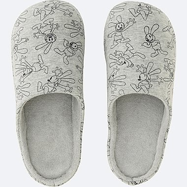 DISNEY COLLECTION SLIPPERS, GRAY, medium