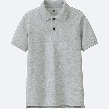 BOYS Dry Pique Short Sleeve Polo Shirt