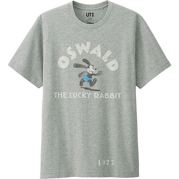 MEN DISNEY PROJECT SHORT SLEEVE GRAPHIC T-SHIRT, GRAY, large