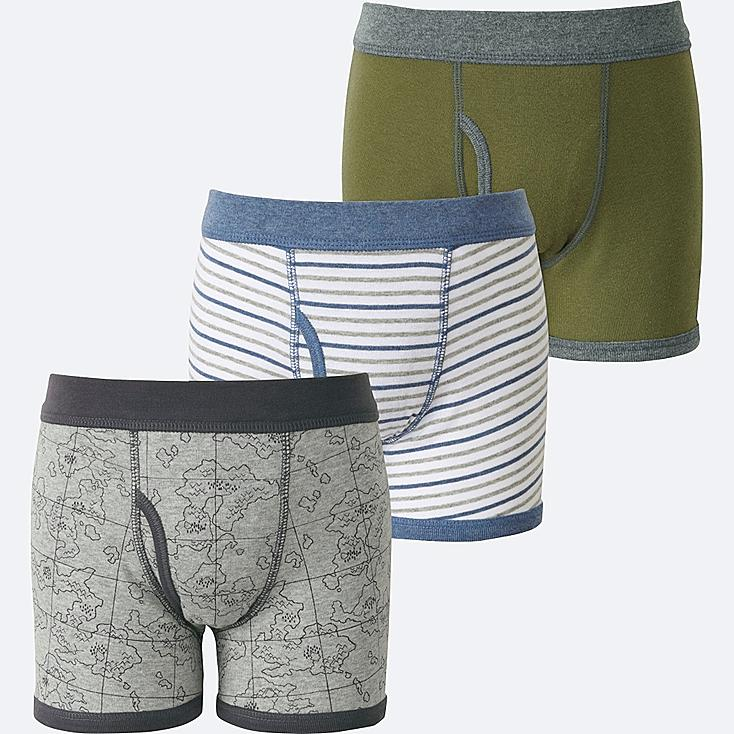 BOYS BOXER BRIEF 3 PACK, GRAY, large