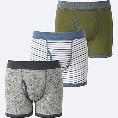 BOYS BOXER BRIEF 3P, GRAY, medium