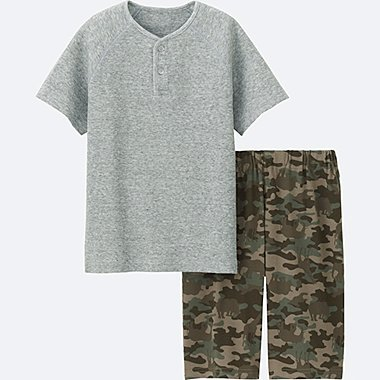 BOYS Dry Short Sleeve Lounge Set