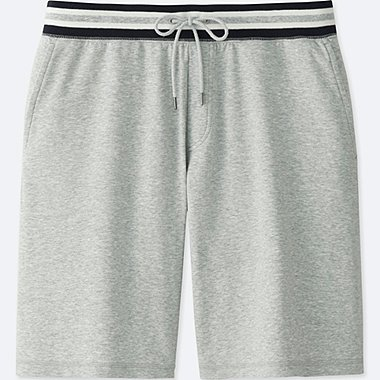 MEN EASY SHORTS, GRAY, medium