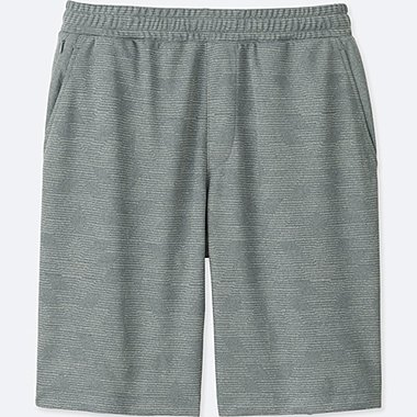 MEN DRY-EX SHORTS, GRAY, medium