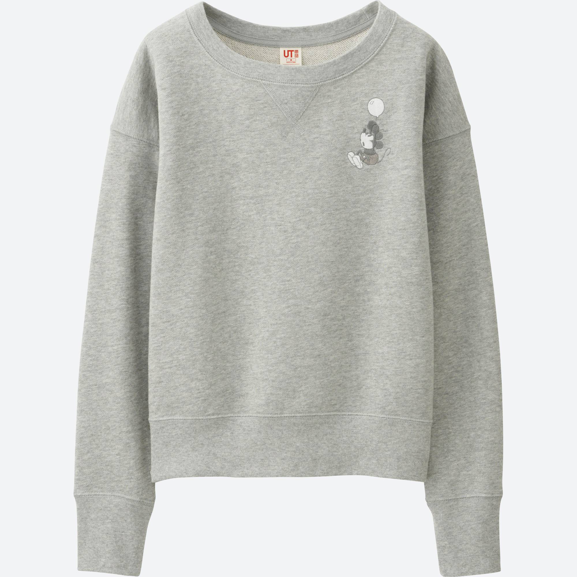 WOMEN DISNEY COLLECTION SWEATSHIRT | UNIQLO US
