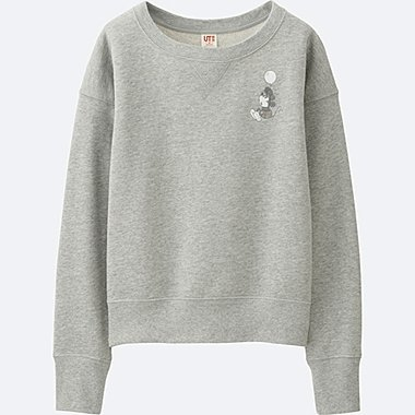 WOMEN DISNEY COLLECTION SWEATSHIRT, GRAY, medium