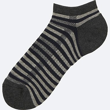 MEN Pile Striped Short Socks