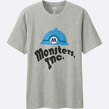 MEN Disney/PIXAR Collection GRAPHIC T-SHIRT, GRAY, medium