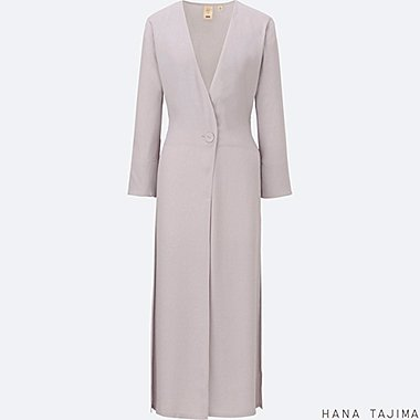 WOMEN HANA TAJIMA TIE BACK LIGHT COAT