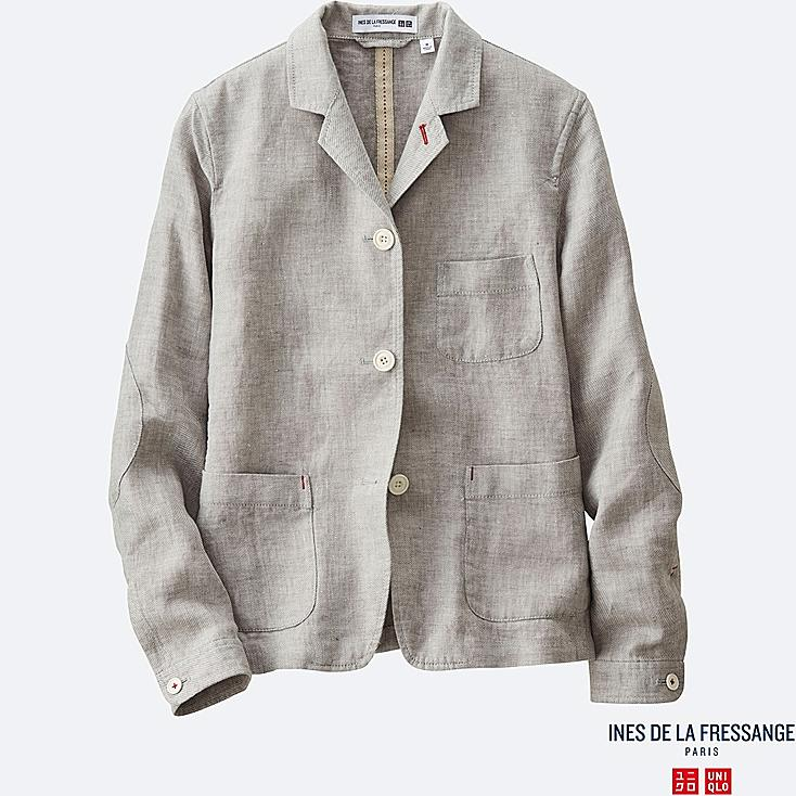 WOMEN INES Linen Twill Jacket