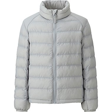 BOYS LIGHT WARM PADDED JACKET, GRAY, medium