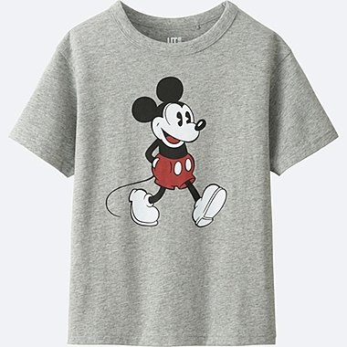 BOYS DISNEY COLLECTION SHORT SLEEVE GRAPHIC T-Shirt, GRAY, medium