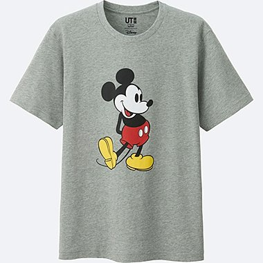 MICKEY STANDS SHORT SLEEVE GRAPHIC T-SHIRT, GRAY, medium