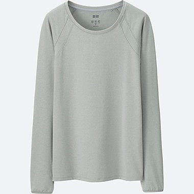 Women Long Sleeve T-Shirts | 3/4 Sleeve | Henley Necks | UNIQLO UK