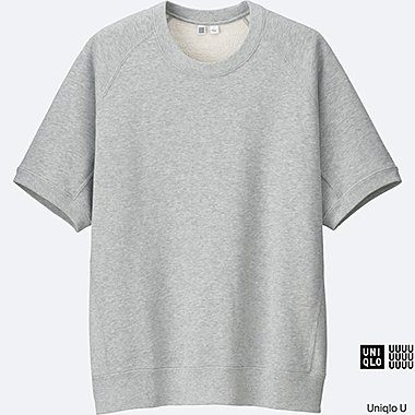 MEN Uniqlo U Short Sleeve Sweatshirt
