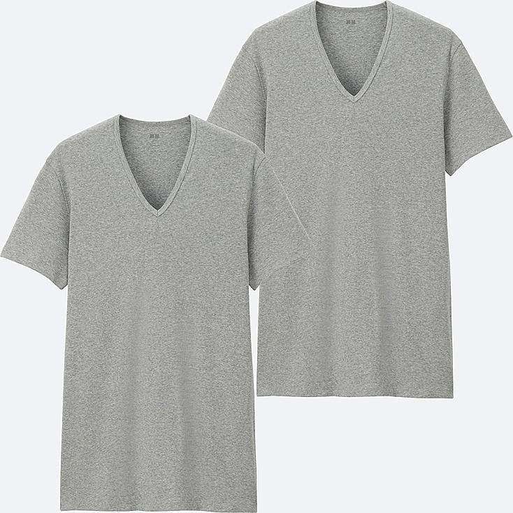 HERREN Supima Cotton T-Shirt V-Ausschnitt 2er-pack