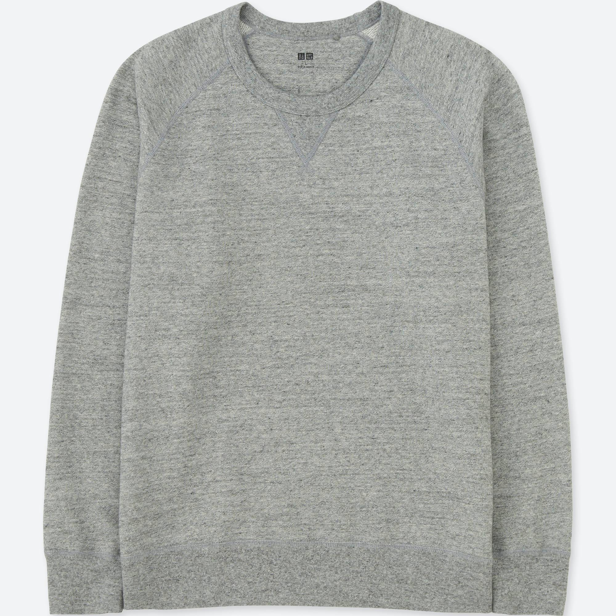 MEN LONG-SLEEVE SWEATSHIRT | UNIQLO US