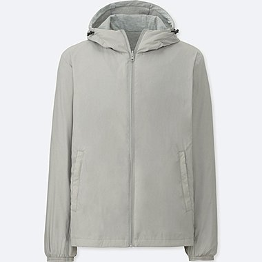 MEN REVERSIBLE PARKA, GRAY, medium
