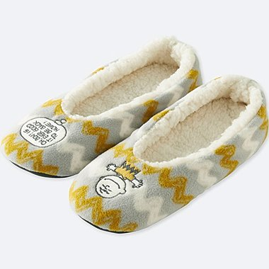 PEANUTS FLEECE ROOM SHOES