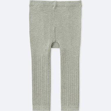 TODDLER KNITTED LEGGINGS, GRAY, medium
