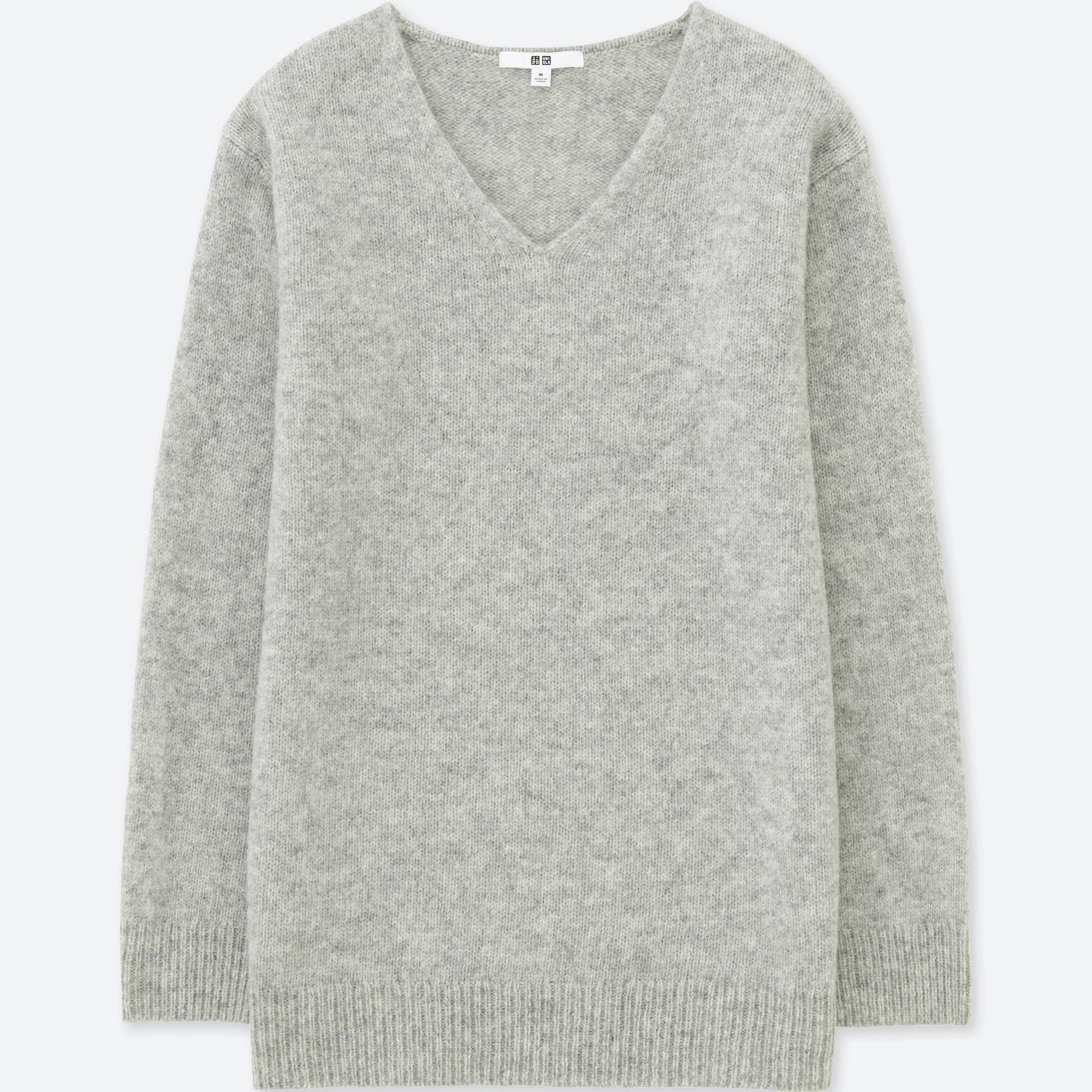 WOMEN MELANGE WOOL TUNIC | UNIQLO US
