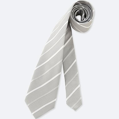 HERREN Krawatte gestreift