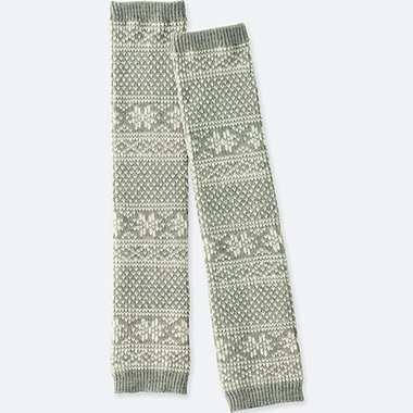 WOMEN HEATTECH KNITTED LEG WARMERS