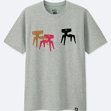 men sprz ny eames short-sleeve graphic t-shirt