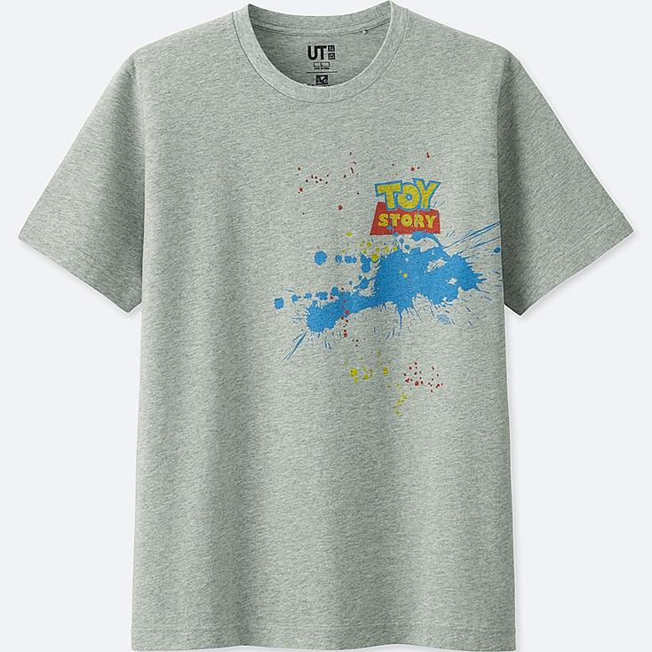 COLOR OF PIXAR SHORT SLEEVE GRAPHIC T-SHIRT (TOY STORY), GRAY, large