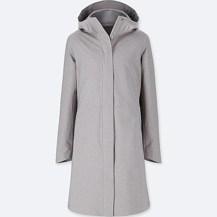 WOMEN BLOCKTECH COAT, GRAY, large