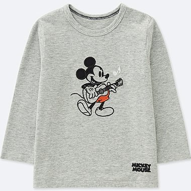 BABIES TODDLER SOUNDS OF DISNEY CREW NECK T-SHIRT