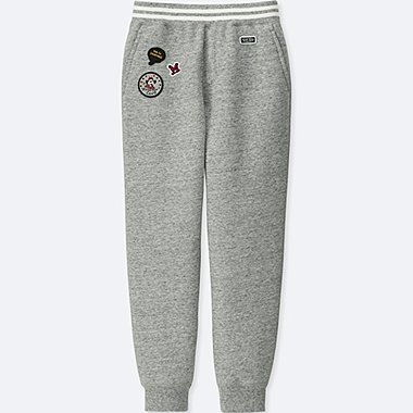 KIDS DISNEY PILE-LINED SWEATPANTS (SOUNDS OF DISNEY), GRAY, medium