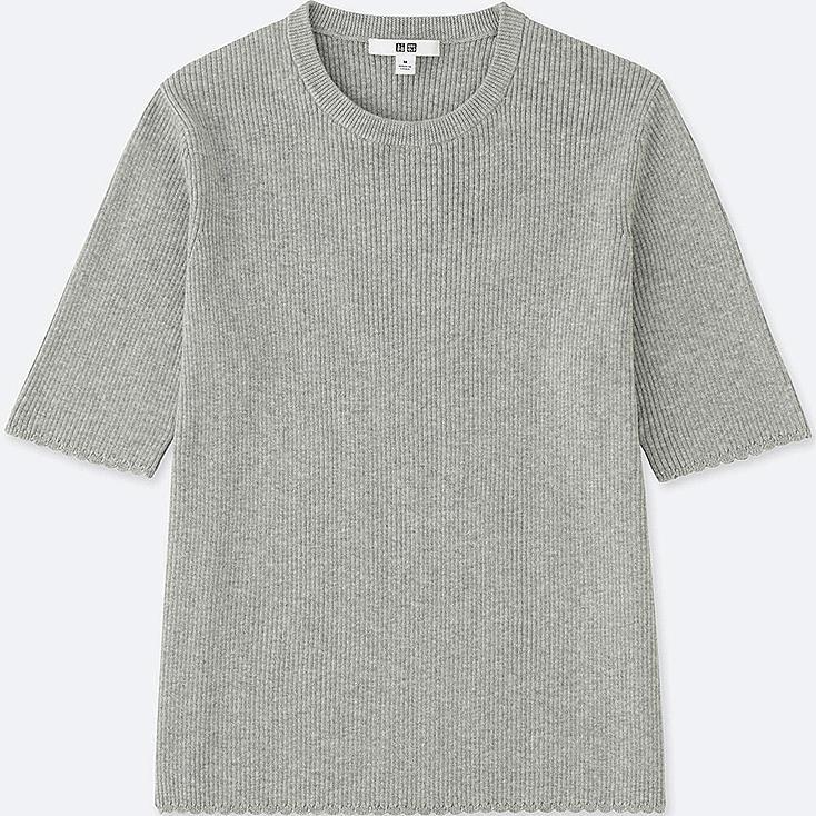 Damen Supima Cotton Pullover by Uniqlo
