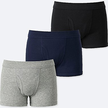 BOYS BOXER BRIEFS (SET OF 3), GRAY, medium