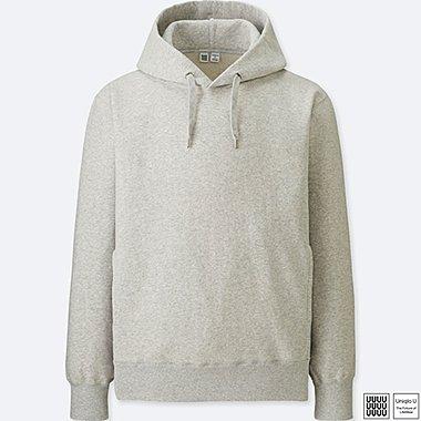 MEN UNIQLO U 100% cotton Long Sleeve Hooded Sweatshirt